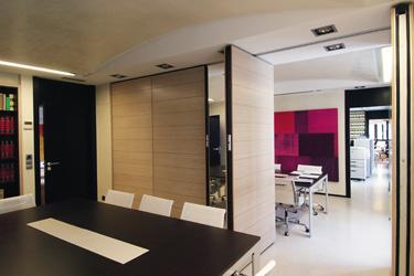 Ofi buro mobiliario de oficina mamparas divisorias obras - Tabiques divisorios moviles ...